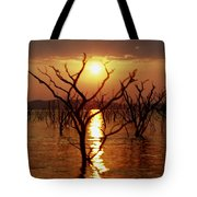 Kariba Sunset Tote Bag