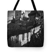 Karlstejn Castle Tote Bag
