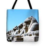 Karnak Temple Statue 14 Tote Bag