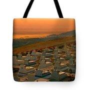 Karpathos Graveyard Tote Bag