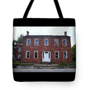 Karrick Parks House - Perryville Ky Tote Bag by Thia Stover