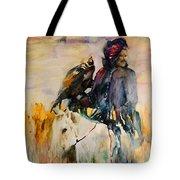 Kasak With Falcon Tote Bag