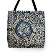 Kasbah Of Thamiel Glaoui Zellij Tilework Detail  Tote Bag