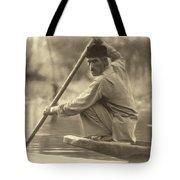 Kashmir Dream Sepia Tote Bag