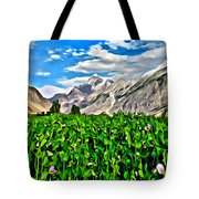 Kashmir Field Tote Bag