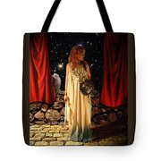 Kat As Athena  Tote Bag