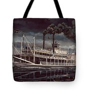 Spread Eagle Steamboat Night Tote Bag