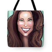 Kate Middleton Tote Bag by Kevin Middleton