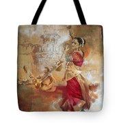 Kathak Dancer 8 Tote Bag