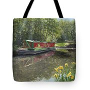 Kathleen May Chesterfield Canal Nottinghamshire Tote Bag