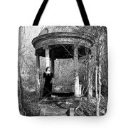 Kathy In Gazebo 1979 Tote Bag