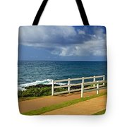 Kauai Beach - Morning Storm Tote Bag