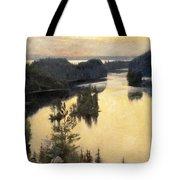 Kaukola Ridge At Sunset Tote Bag