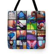 Kavanah Press Collection Tote Bag by Marlene Burns