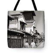 Kawagoe Bell Tower Tote Bag