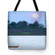 Kayak Fishing 1 Tote Bag