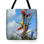 Kayak Tree Tote Bag