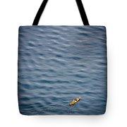 Kayaking Alone Tote Bag