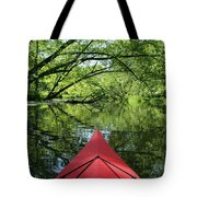Kayaking Backwater Mississippi 1 Tote Bag