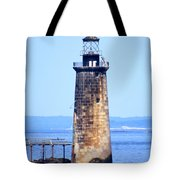 Kayaking By Ram Island  Tote Bag by Nancy Patterson