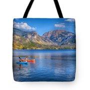 Kayaking Grand Lake Tote Bag