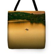 Kayaking On Lady Bird Lake Tote Bag