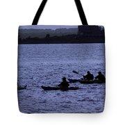 Kayaking Stonington Tote Bag