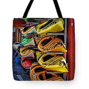 Kayaks Hdrbt3226-13 Tote Bag