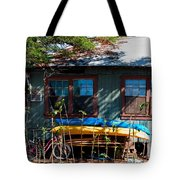 Kayaks Surfboards And Bikes - The Good Life Tote Bag