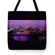 Kc Skyline-1990 Tote Bag