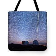 Keck Laser Piercing The Heavens 1 Tote Bag