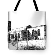 Kedington Church Tote Bag