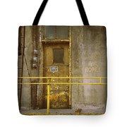 Keep Door Closed Tote Bag