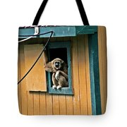 Keep It Down Out There Tote Bag