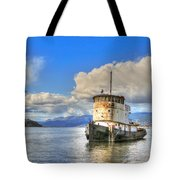 Keep Off Old Ship Tote Bag
