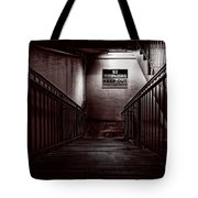 Keep Out Danger Of Drowning Tote Bag by Bob Orsillo
