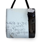 Keep The World Free Tote Bag