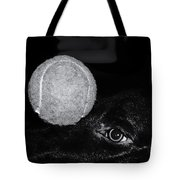 Keep Your Eye On The Ball Tote Bag