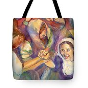 Keep Your Eyes On The Prize United Tote Bag