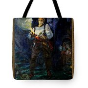 Keep Your Powder Dry Tote Bag