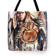 Keeper Of Legends Tote Bag