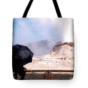 Keeping Watch Over The Castle Tote Bag