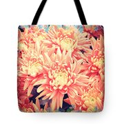 Keepsake Chrysanthemum  Tote Bag