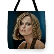 Keira Knightley Tote Bag by Paul Meijering