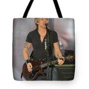 Musician Keith Urban Tote Bag