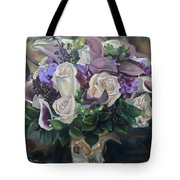 Kelly's Bridal Bouquet Tote Bag