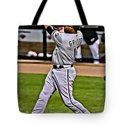 Ken Griffey Jr Painting Tote Bag