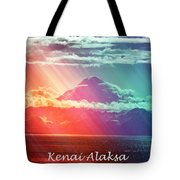 Kenai Alaska Mount Redoubt Tote Bag