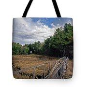 Kennebec River Rr Lighthouse Tote Bag