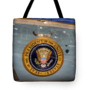 Kennedy Air Force One Tote Bag